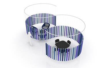 Soundsticks, il divisorio acustico che realizza ogni tua idea